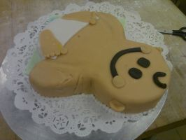 Baby Shower Cake IV by AlyceThePirate