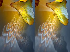 Lady Of Spain by Dave Chihuli in Stereo by aegiandyad