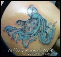 caretta tattoo by hilost