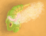 Caterpie by Zalcoti