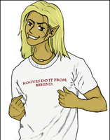 Zevran Does it From Behind by Amorius