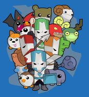 Castle crashers by BlueBubble-L