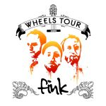 Fink Wheels Tour T-Shirt competition art. by samlaleo