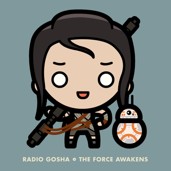 Radio Gosha x The Force Awakens Rey by GoshaDole