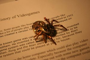 Steampunk Spider Pendant by Paul-Nasca