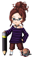 Commission chibi color 01 by Angy89