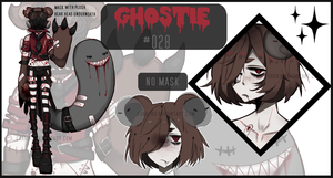 GHOSTIE AUCTION . OPEN by CHARIKO