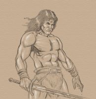 conan the barbarian by glennsapien