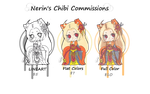CHIBI COMMISSION PRICE SHEET by NerinSerene