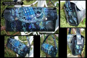 Leather Tardis Purse by Jedi-With-Wings