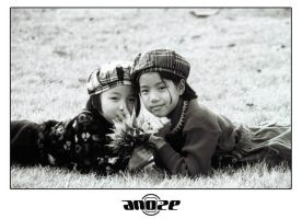 KOREAN CHILDREN by ANOZER