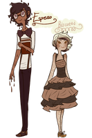 Cafe Adoptables .: Adoptables Closed:. by MythsandMonsters