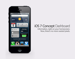 iOS 7 Concept: Dashboard by theIntensePlayer