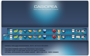 Casiopea OD dock by e-seeker