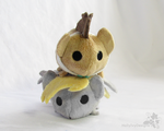 Tsum Tsum Derpy and the Doctor by HollyIvyDesigns