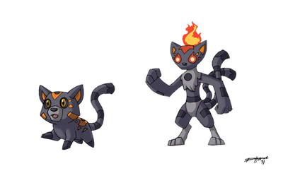 Ghost Cats by Either-Art