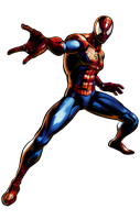 Ultimate MVC3 spider-man by heatheryingNL