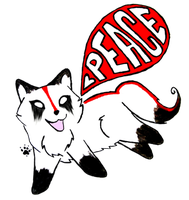 PeaceWolf Chibi by Peace-Wolf