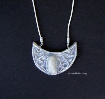 Snow Queen necklace by Lorellyne
