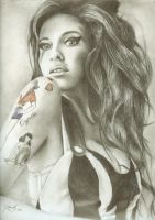 Amy Winehouse by Dizraeli