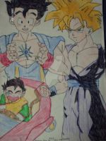 colleage of GOHAN by Nessie-Noodlez