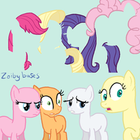 MLP base 4: GASP D: by ZoibyBases