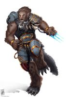 Wulfen by TheMaestroNoob