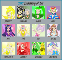 2012 Art Summary by Aijihi