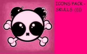 Skull icon pack by garbaniele