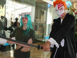 another nel and ichigo by neon-talon-claw