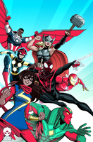 All New All Different Avengers by LucianoVecchio