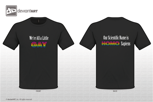 Anti-Homophobia T-Shirt by Porter-Bailey