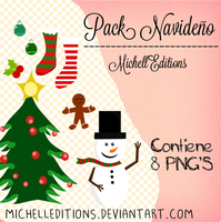 NAVIDAD PNG by MichellEditions