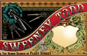 Sweeney Todd Graphic by HGriffin