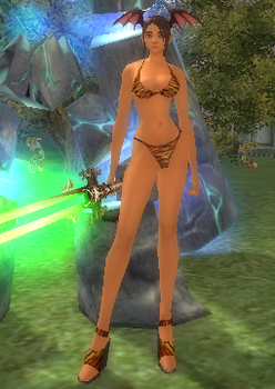 veno lvl 71 in bikini by girlbot9