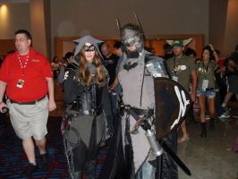 DragonCon2012-MedievalBatman+Catwoman by PoldalleLovesnare