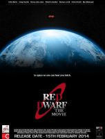 Red Dwarf The Movie [Fan Produced Film Poster] by DoctorWhoOne