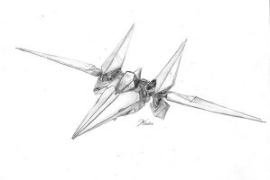 Arwing by Trooper1212