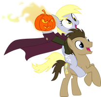 Headless Horseman with his head by UP1TER