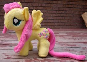 Funrise Pony Pattern - Finished Fluttershy by Agony-Roses