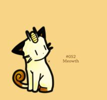 #052 - Meowth by FrostTechnology