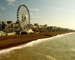 Brighton Beach03 by abelamario