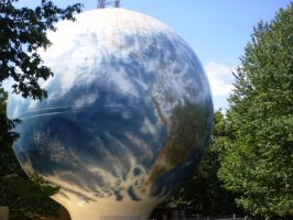 World On A Water Tower by jhaumann