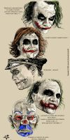 Heath Ledger xpresions by le0arts