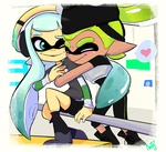 Inkling Couple by Sombaholic