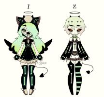 adoptable girls CLOSED by AS-Adoptables