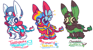 FUCKING DODOH ADOPTS (OPEN) by DINKY-INK
