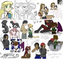 Iscribble dump 6 by silver-dragonetsu