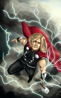 Thor by jadenwithwings