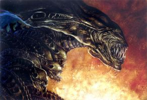 Aliens Tribes cover by DaveDorman